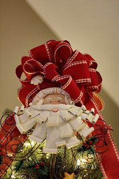 make a big puffy bow crafts and craft christmas tree bow tutorial - How To Make A Big Christmas Bow