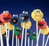 Sesame Street Cake Pops...Perfect for the kids!