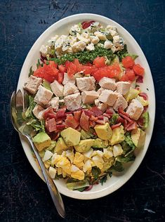 Cobb Salad Recipe Recipe Recipe - Saveur.com