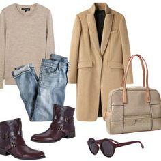 El abrigo de corte masculino, una apuesta segura este otoño. Te decimos cómo combinarlo. #abrigos #moda #trendy