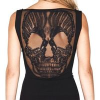 Premonition Designs' Skull Dress