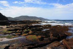 Depot beach rock platform