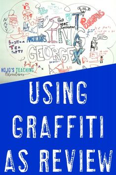 Create a graffiti wall in the classroom to get students engaged, talking, AND learning! Click through to see the many ways this can be done. 7th Grade Social Studies, Social Studies Notebook, Social Studies Classroom, Social Studies Activities, Middle School Classroom, History Classroom, Teaching Social Studies, Teaching History, History Education