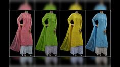Ishieqa's New Arrivals in Lucknowi Chikankari Kurtis, Sarees and Fabric Kurtis, Sarees, Dresses With Sleeves, Long Sleeve, Fabric, Stuff To Buy, Fashion, Gowns With Sleeves, Tejido