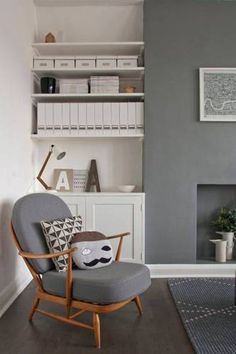 DOMINO:gray living rooms that don't feel cold