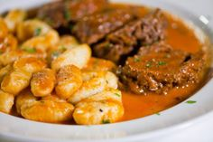 Gnocchi with braised beef