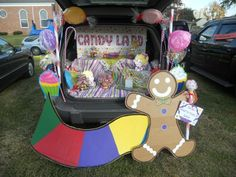 Candy land trunk or treat. Very proud of my creation! :)