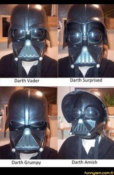 Vader's emotions