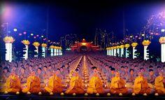 ¡Sin photoshop! Día del Buddha Amitabha