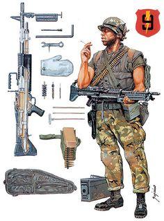 """""""Marine Machine Gunner""""   Ramiro Bujeiro"""