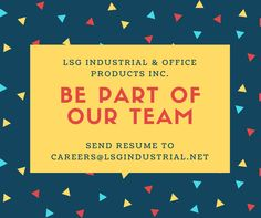We are looking for applicants qualified to any of these positions: • Mechanical Engineer • Accounting Staff • Sales Coordinator • Telemarketer • Office Clerk Apply now by sending your resume/cv to careers@lsgindustrial.net #jobs #clark #pampanga #angelescity #apply