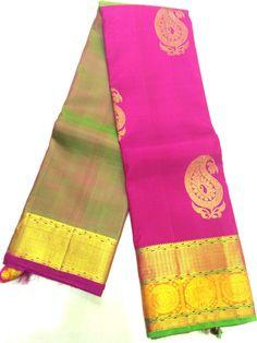 d7a34f1807 Kanchipuram Fancy Silks 288 - Kanchipuram Sri Madheswaran Silks Sarees Shop  Wedding Silk Saree, Traditional