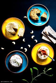 Fromages de cajou - Antigone XXI http://antigonexxi.com/2014/01/23/comment-faire-des-fromages-vegetaux-le-b-a-ba/
