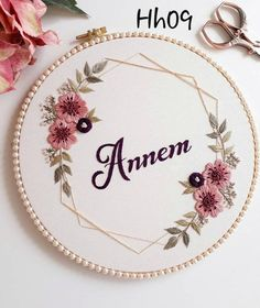 Hand Embroidery Patterns Flowers, Hand Embroidery Videos, Hand Embroidery Tutorial, Simple Embroidery, Hand Embroidery Designs, Custom Embroidery, Embroidery Kits, Embroidery Hoops, Broderie Simple