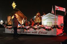 christmas parade Christian float ideas - Google Search