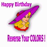Red Hat Happy Birthday - Reverse Your Colors
