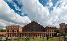 Atocha station - Madrid