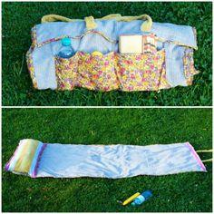 Strandmatte selber nähen - Anleitung