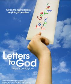 Letters To God - A Remarkable Movie