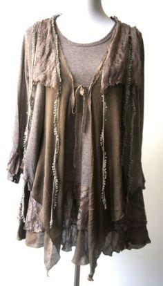 Pretty Angel Vintage Bohemian Gypsy Romantic Layered Tunic Stylish Earthy | eBay
