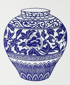 chinese vase designs - Google Search