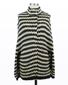 Gimme Shelter Sweater Cape - I want this cape so bad. Looks so cozy.