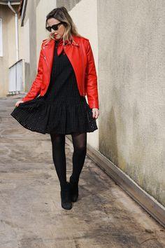 #look #pimkie #pimkiexme #robe #bandana #rougeetnoir #perfectorouge