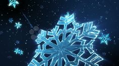 Snow Flake Frost - Stock Footage | by LoganKenesis