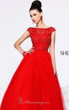Open Back Long Dress by Sherri Hill 2984