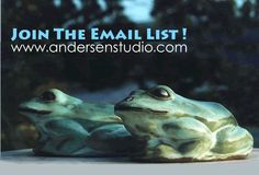 Sign up for Andersen Studio's Email List and Save- Get the news and the specials too! American made wild life sculpture and contemporary functional form since 1952. Andersen Studio is one of a kind! www.andersenstudio.com
