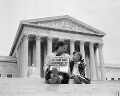 Today in one of the landmark civil rights cases in American history was decided. Brown V. Board of Education was settled, with the Supreme Court finally ruling that racial segregation in public schools was unconstitutional. Jim Crow, Cycle 3, Civil Rights Movement, Thing 1, Rosa Parks, Before Us, African American History, The Villain, Supreme Court