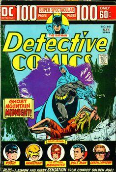 Detective Comics #440. 100 pages. Batman. Ghost Mountain Midnight. Jim Aparo cover. #JimAparo #Batman #DetectiveComics
