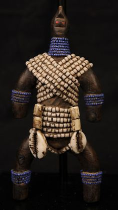 African Tribal  Namchi Doll  Cameroon Grasslands - $70