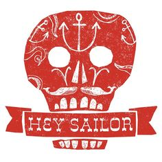 Hey Sailor print
