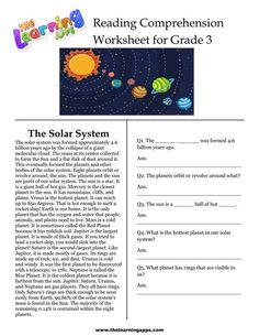 3rd Grade Reading Comprehension Worksheets, Worksheets For Grade 3, Homeschool Worksheets, Spelling Worksheets, Reading Worksheets, Homeschool Curriculum, Homeschooling, Reading Lessons, Reading Skills