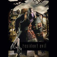 109 Best Resident Evil 4 Images In 2019 Evil Art Videogames Leon