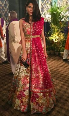 759f472a4cc36f Indrani Dasgupta showcases a creation by designer Rohit Bal at India Bridal  Fashion Week (IBFW) 2013