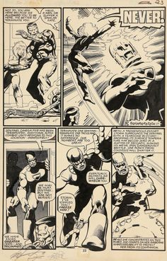 Uncanny X-Men #142, page 23 by John Byrne & Terry Austin. 1981.