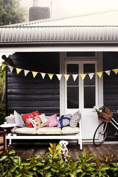 Australian cottage exterior