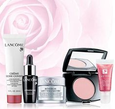 Lancome | Today only - get 8 free deluxe samples with any order of 35 or more w/ code. [Exp 7/7]