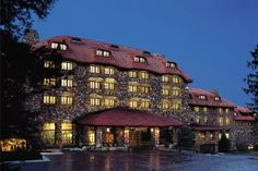 The Grove Park Inn (Asheville, N.C.) — Love this hotel! Great for a weekend getaway especially at Christmas!