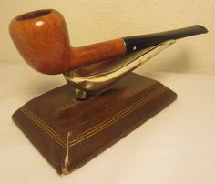 Vintage Kaywoodie Super Grain Straight Slim Pear Briar Tobacco Smoking Pipe