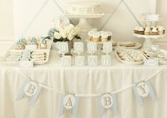 Baby Shower Boy Ideas Decorations