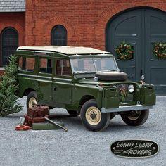 1959 Land Rover 109 station wagon, coach barn, shelburne farms