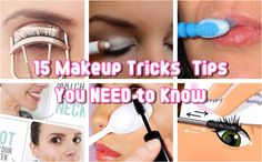 There are so many easy makeup tips and tricks that maybe you didn't know that existed until now. Reduce stress and headaches when it comes to common makeup mistakes by Beauty Tips For Skin, Health And Beauty Tips, Beauty Secrets, Diy Beauty, Beauty Makeup, Beauty Hacks, Beauty Ideas, Tips And Tricks, Makeup Tips For Beginners