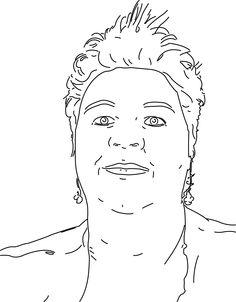 Bekijk de portret animatie van Belinda Dokter. Belinda doet mee met de Kunst Kalender 2014.