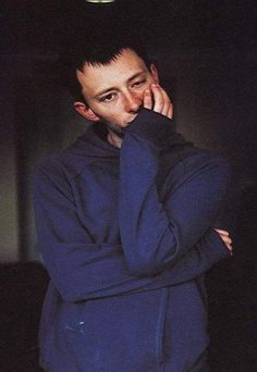 I'm almost sorry for spamming pictures of Thom Yorke?
