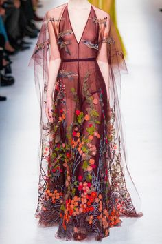 Valentino has a Boho kind of style but it's just simply beautiful.
