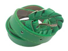 GCI+Casual+Stylish+Women/Ladies+Simple+BL-12+Green+Belts+Exclusive+Design+Price+₹423.30