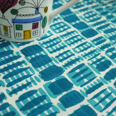 overprinted brushstrokes. £5.50, via Etsy.